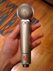 Up Close & Personal with the Horizon Microphone from Lauten Audio