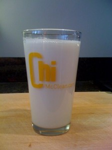 Milk does a body good... So does your ChiMcClean.com pint glass!