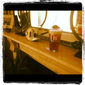 A frosty, cold one, courtesy of my buddy (and a terrific singer/songwriter), Dan Littlefield.