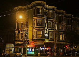 The Hotel Utah Saloon in San Francisco, CA. Site of many a wild, musical night... including last night.