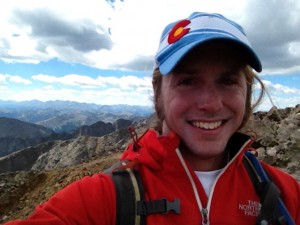 One big sunburned smile from Colorado and the summit of Mount of the Holy Cross.
