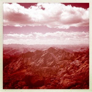 View from the summit of 14,005' Mount of the Holy Cross. Spectacular!
