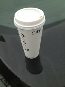 The only thing that kept me from becoming another roadside statistic on the I-5. Thank you, Starbucks!