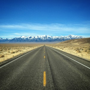 "The open road. Highway 50, also knows as the ""Loneliest Road in the Country"", is just plain mesmerizing!"