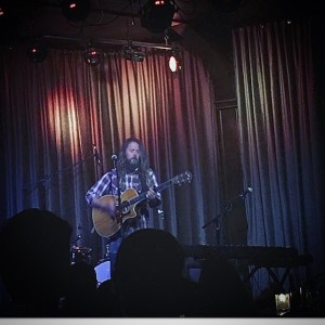 Performing at The Hotel Cafe in Los Angeles, California this May.